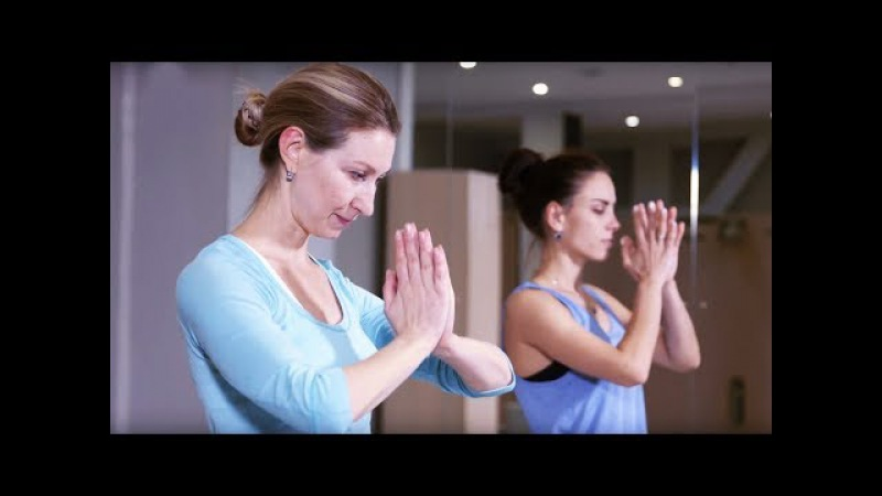 Йога для начинающих. Комплекс ВЕЧЕРНЯЯ ЙОГА для дома. Чандра НАМАСКАР. Йога в Нов...