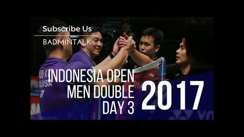2017 BCA Indonesia Open R32 MD | Hendra Setiawan/Tan Boon Heong vs Hiroyuki Endo/Yuta Watanabe