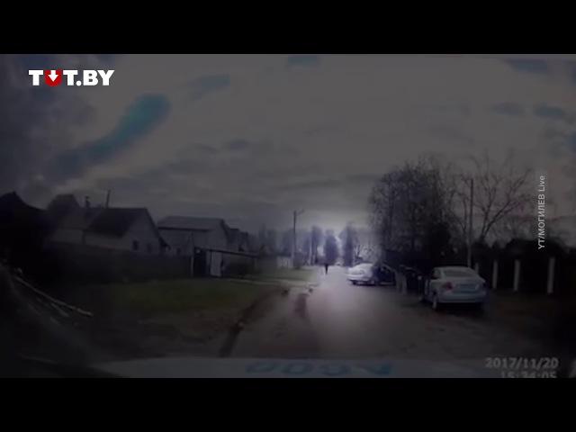 Видео захвата грабителя банка в Могилеве