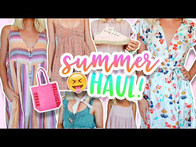 SUMMER HAUL Urban Outfitters Free People More 2017 Aspyn Ovard