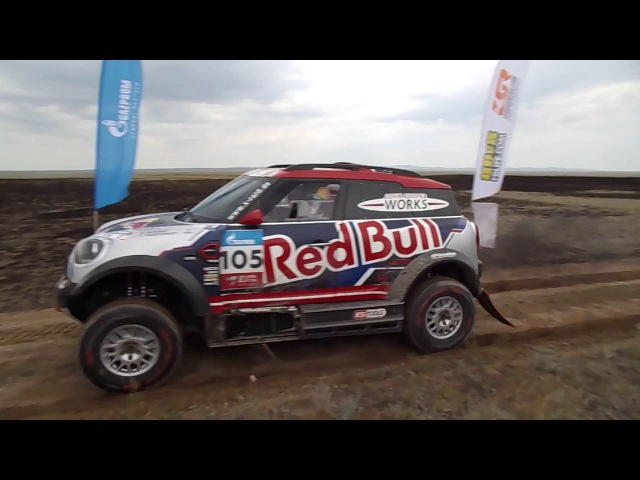 Bryce MENZIES. Silk Way Rally 2017. Семей