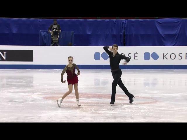 JWC2017 Aleksandra BOIKOVA / Dmitrii KOZLOVSKII SP