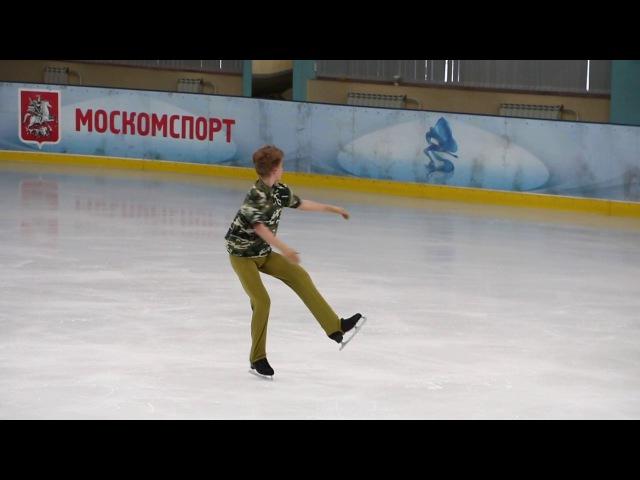 Максим Федотов, ПП, Первенство Москвы 2017, старший возраст