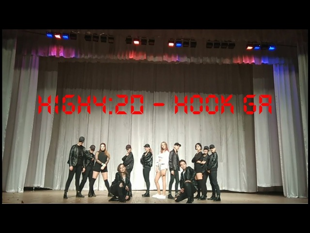 HIGH4:20 - HookGA(Hook가) (Feat. HWASA(화사) Of MAMAMOO(마마무)) [dance cover by YML]