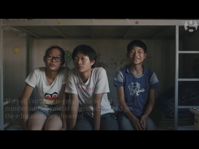 The forgotten children of China's prisoners | Guardian Docs