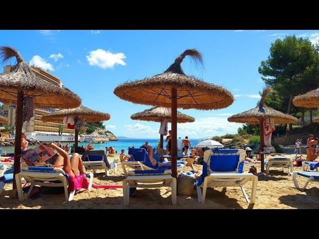 Пляж Кала Виньес Майорка / Playa Cala Vinyes Mallorca