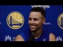 Stephen Curry Talks Championship Ring, Random Shootout With Omri Casspi   2017-18 NBA season
