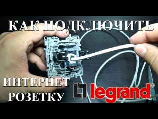 Компьютерная розетка Legrand подключение интернет розетки RJ45 Valena, Mosaic, Celiane, Etika