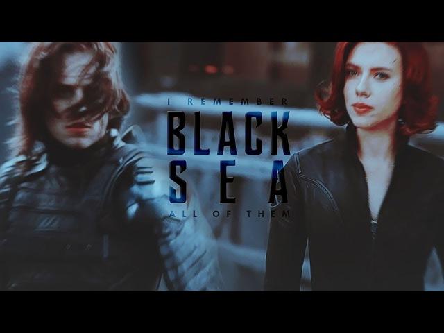 ● black sea | bucky and natasha