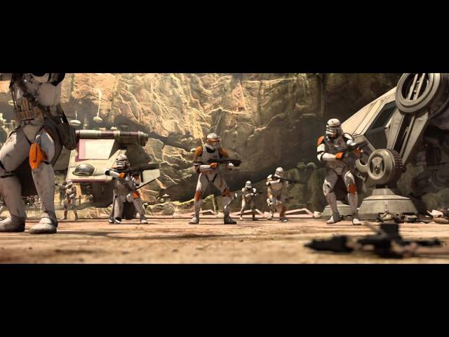 Star Wars Episode III Obi Wan vs General Grievous