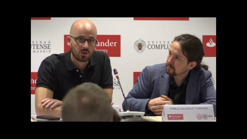 Pablo Iglesias: 'España en perspectiva. Un proyecto para 2020'