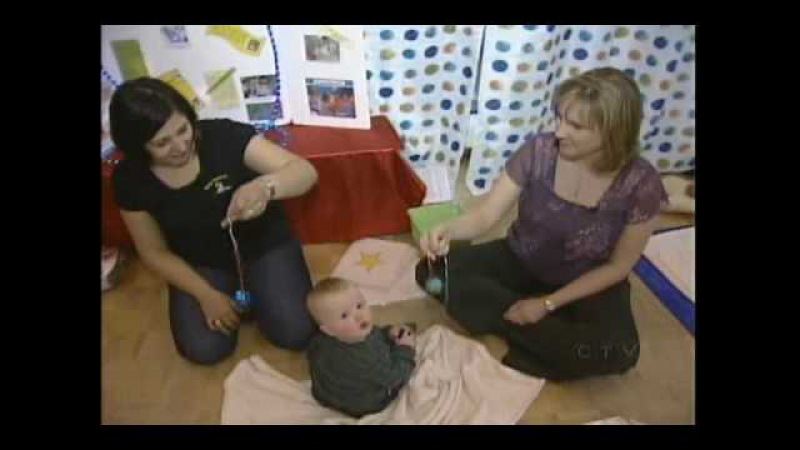 Gracie at Baby Sensory Class