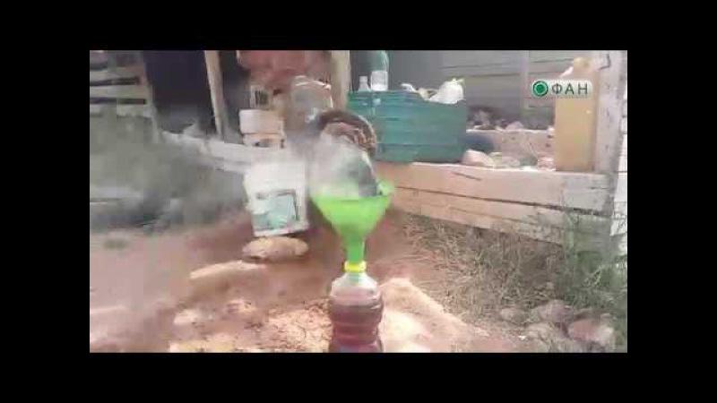 Сирия: жители осажденных городов вынуждены добывать бензин из пластика