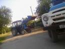 ЗиЛ 133 Колхозник Погрузка ячменя МТЗ 82