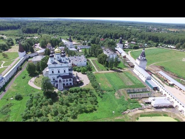 Иосифо Волоцкий монастырь. Воздушная съемка.