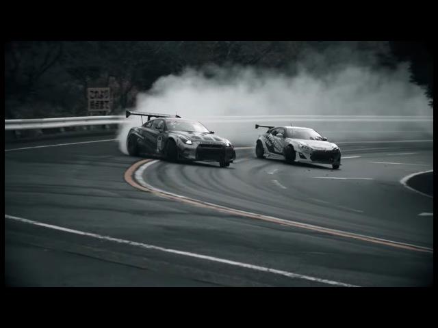 Toyota GT86 VS Nissan GT-R | Masato Kawabata vs Ken Gushi | Drift Racing