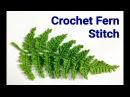 Crochet Fern 🌿 Leaf
