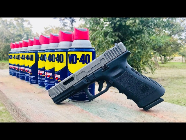 CUSTOM GLOCK 17 vs WD-40