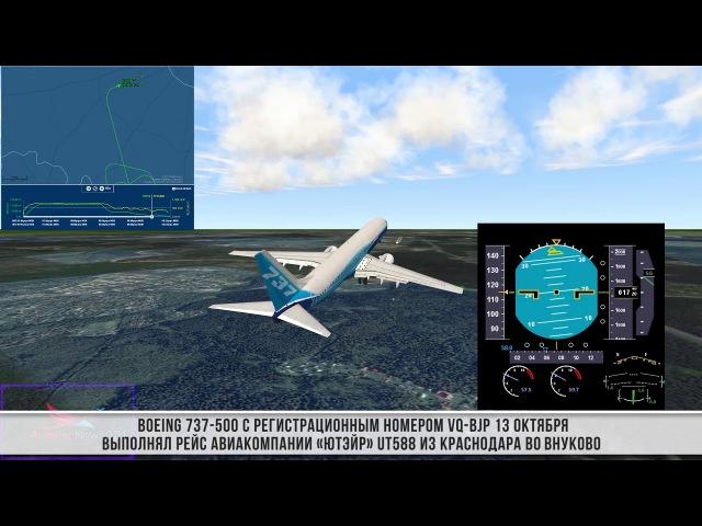 Самолет UTair чуть не попал в авиакатастрофу