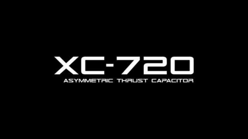 Antigravity capacitor XC-720