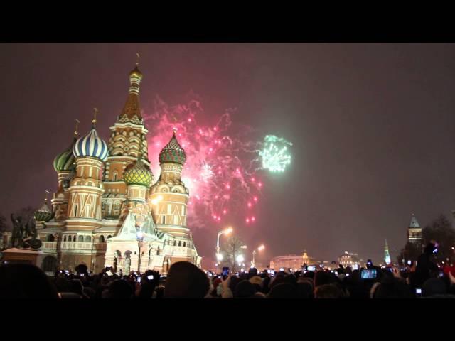 Новый год 2015 на Красной площади