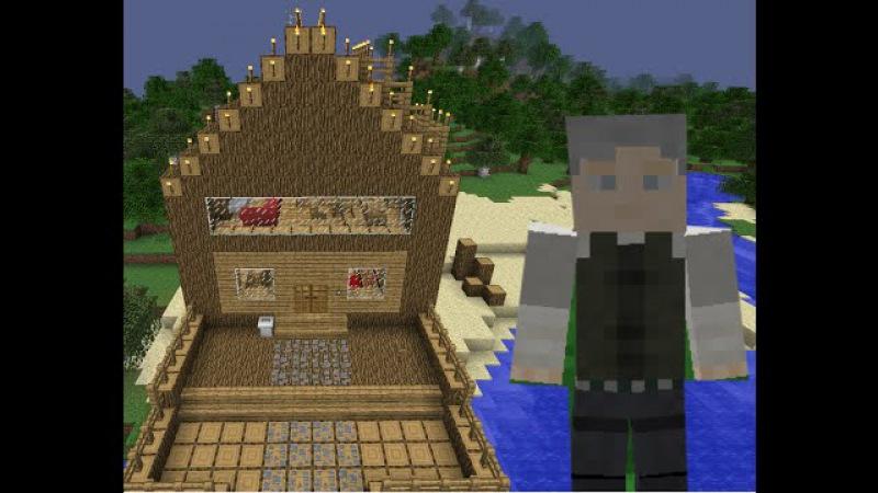 Сериал в Minecraft Паранормальное явление часть 1 сезон 1