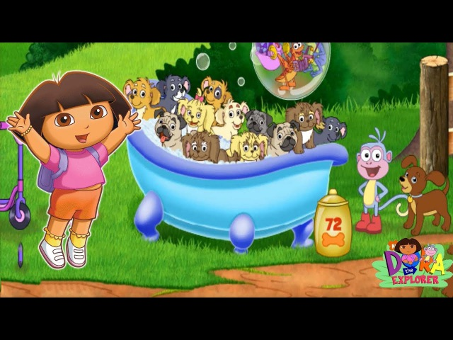 Dora the Explorer Find Those Puppies Gameplay Games Online