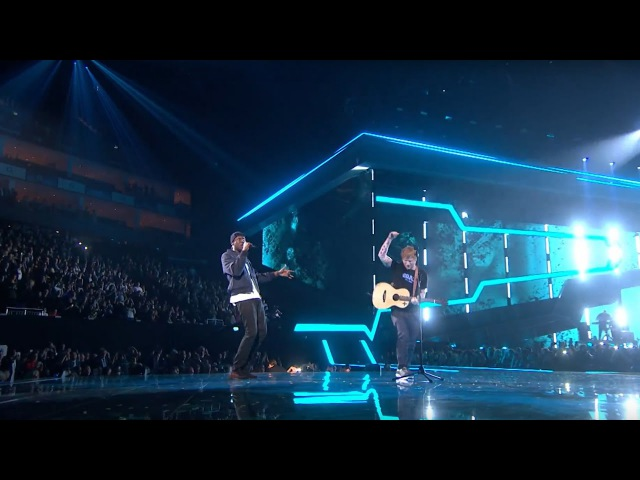 Ed Sheeran – Castle On The Hill Shape Of You feat. Stormzy [Live from the Brit Awards 2017]