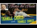 Bjj Girl Triangle Chokes Boy