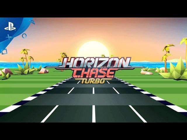 Horizon Chase Turbo - PSX 2017: Teaser Trailer   PS4