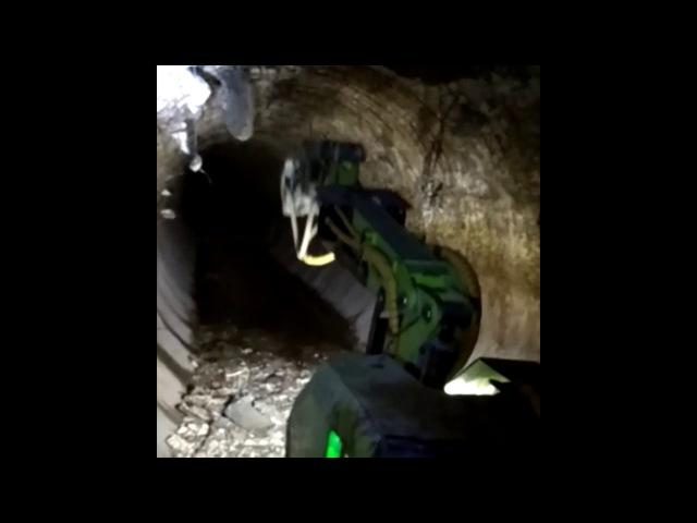 Тоннелепроходческие работы, работа в тоннеле.