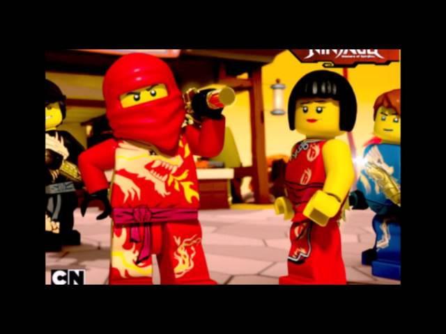 [Клип] NinjaGo-Четыре Пацана