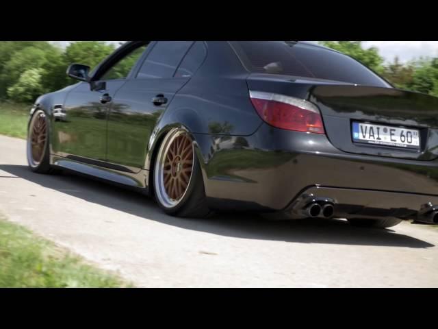 BMW 5er E60 Airride CarPorn Selictinc Productions