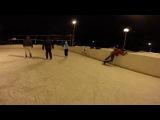 Hardcore ice skating