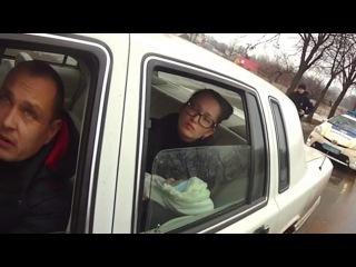 Видео с боди камер Показал документы-МОРДОЙ В ПОЛ