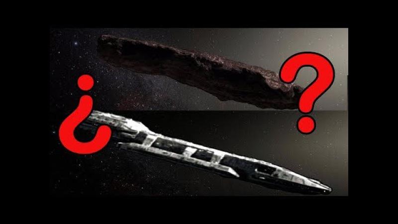 Oumuamua no parece ser una nave extraterrestre, pero aun sigue el misterio