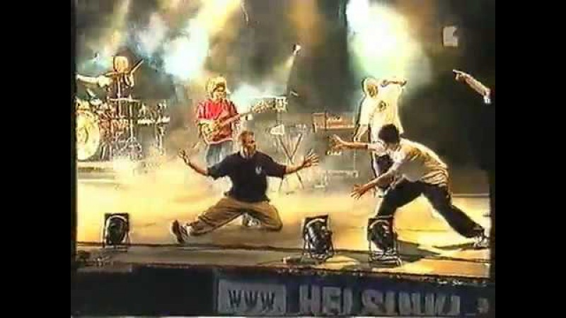 Bomfunk mc's -Freestyle live in Finland 2000