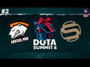 VP vs Sacred RU #2 (bo3) Summit 8 Qualifier Minor 13.12.2017