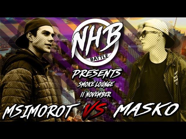 NHB Battle 3 | MASKO X MSIMOROT