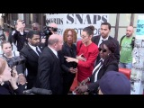 Bella Hadid yells at her OVERZEALOUS BODYGUARD after the Michael Kors Fashion Show in NYC