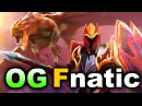 OG vs Fnatic Elimination Loser Bracket AMD SAPPHIRE DotaPIT DOTA 2