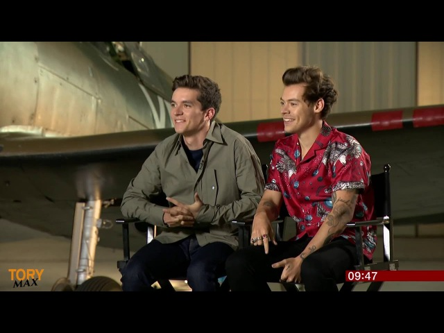 Harry Styles Fionn Whitehead Interview 'Dunkirk' | Harry says