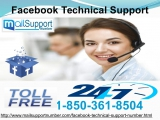 Is Facebook Technical Support 1-850-361-8504 Fake or Genuine