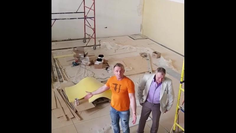 Greatcircus ru Аскольд сказал еще 2 недели и ремонт в балетном зале будет закончен Ну что ж подождем