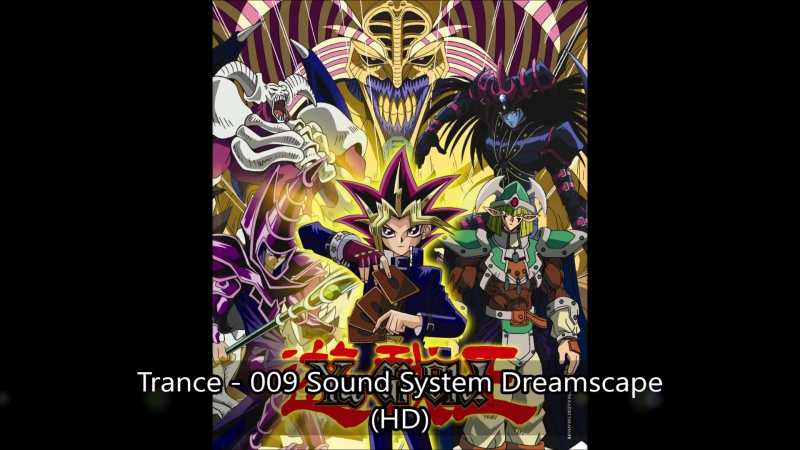 Trance - 009 Sound System Dreamscape Yugi vs Bakura -The Final Duel Battle AMV Plus Yu-Gi-Oh! 4x Poster