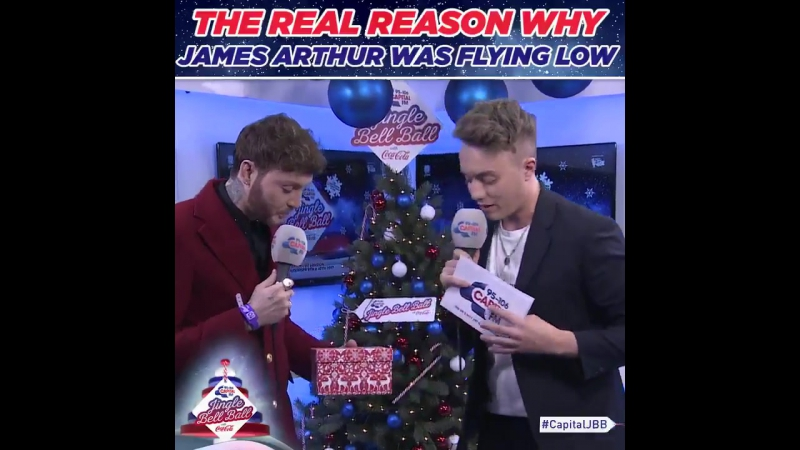 James Arthur is a literal hero for having his flies undone during the entire CapitalJBB 😂 LEDGE END