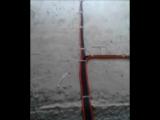 Монтаж электропроводки по полу
