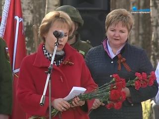 Памятник военной дрессировщице и собаке-сапёру открыли в Петербурге