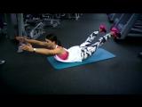 Зарядка. Упражнения для мышц спины