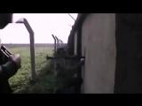 Сирия.Январь 2013.Отработка позиций гранатометчика снайпером САА.